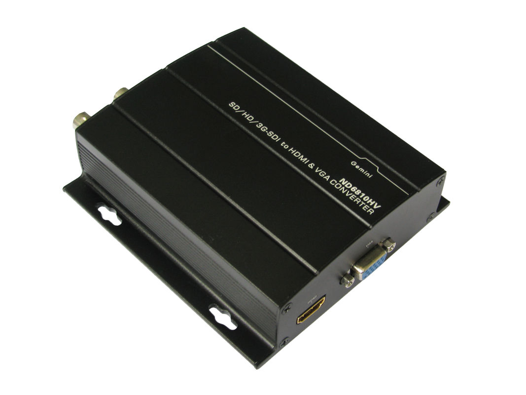 DC 12V 1A Multimode Fiber Optic Transceiver 3G 1080P