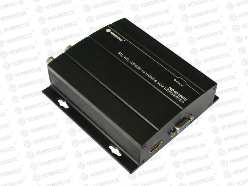 High Definetion 1080P HD SDI Converter AC Coupling 1xVGA Output Format