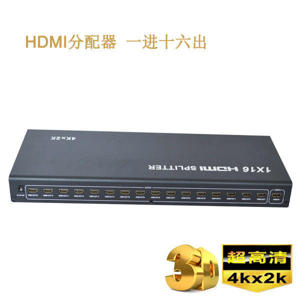 4K 1.4b 1 x 16 HD HDMI Splitter 1 in 2 out in HDMI Splitter,support 3D Video
