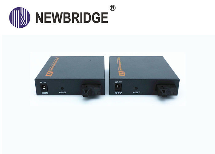 USB Fiber Optic Kvm Extender ESD Protection High Resolution 1920 X1080 Over 20KM Singnal Up