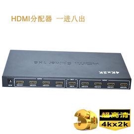 HDMI 3D HD 4K Splitter 1 X 8 HDMI Splitter 1 در 8 Out